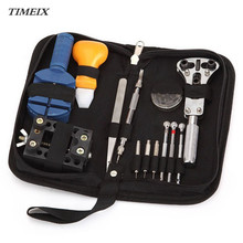 13 Pcs/Set Watch Repair Tool Kits Set Zip Case Holder Opener Remover Wrench Screwdrivers Watchmaker Watch Accessories,Dec 5*40