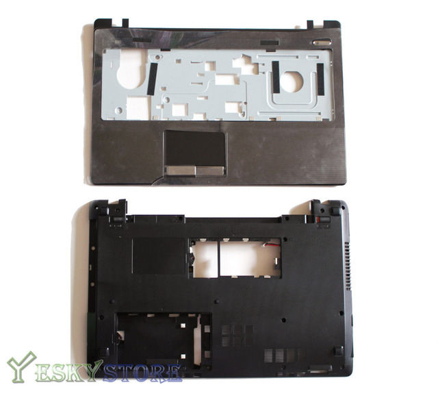 "NEW For  ASUS K53U K53T K53B Series Bottom Base Cover Case & Palmrest Upper Case ""HDMI"" Combo Free Shipping"