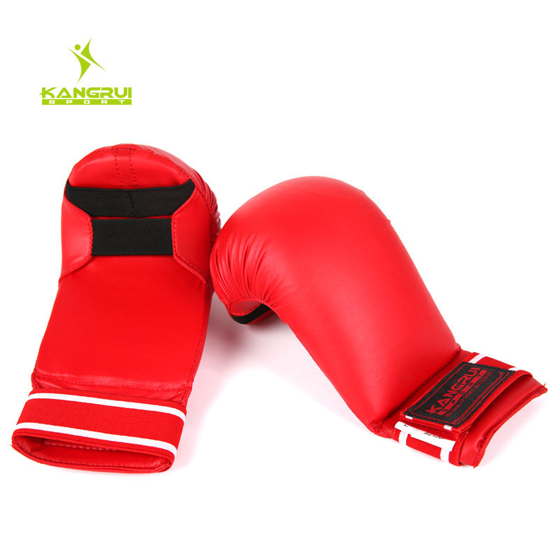 2016 wholesale Karate gloves hand protectors Child adult karate dobok suite MMA kick boxing muay thai boxing glove hands guards