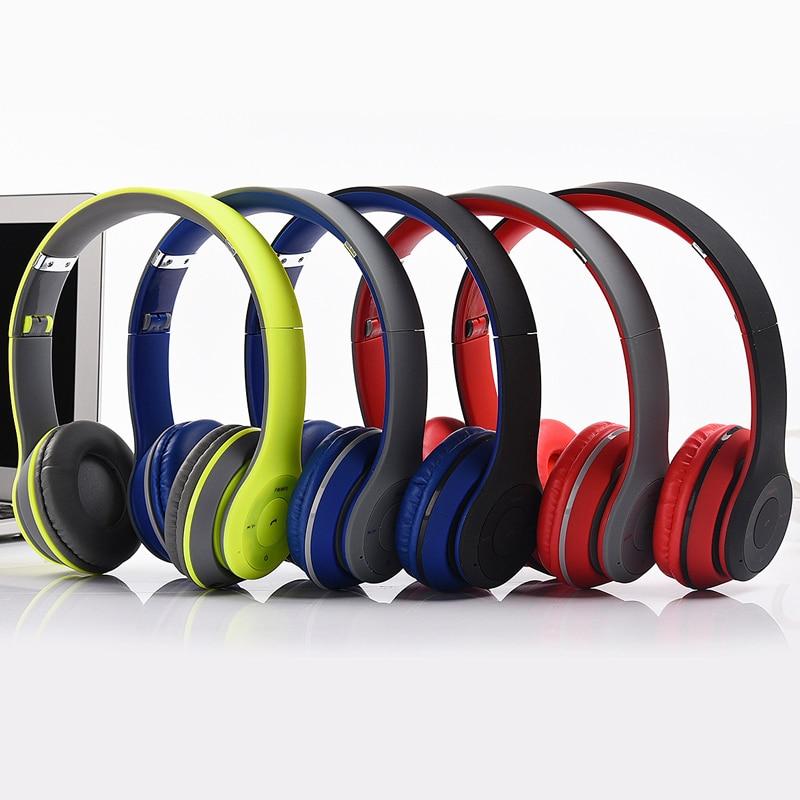 Popular font b Bluetooth b font Headphones Microphone stereo wireless headset font b bluetooth b font