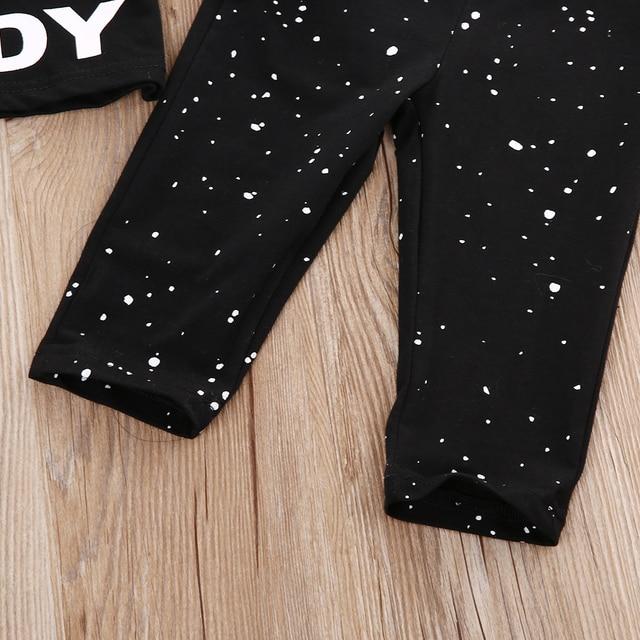Newborn Star Wars Clothes Boy Girl Baby Clothes T-shirt Long Pants
