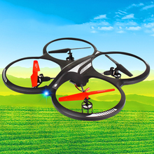 Large RC drone rc UFO H07NL 2.4G 4CH 6-Axis Gyro Stable flying drone with gyro and light rc quadcopter rc toy model best gift to