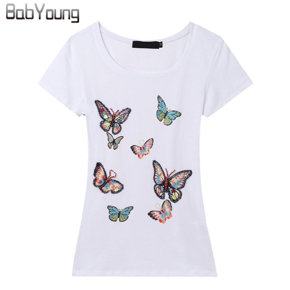 Babyoung 2017 Summer Tops Woman Brand T Shirt Women