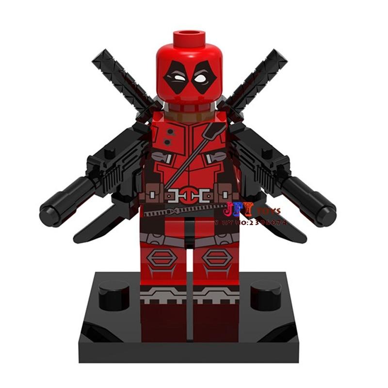 50pcs superhero Deadpool x men building blocks bricks friends for girl boy kids children toys brinquedos