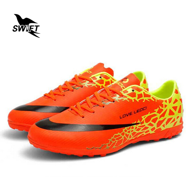 Crackle Children Turf Soccer Boots Superfly 2017 New Top Football Shoes Kids Futsal Sneakers Cheap TPU Cleats Crampons De Foot