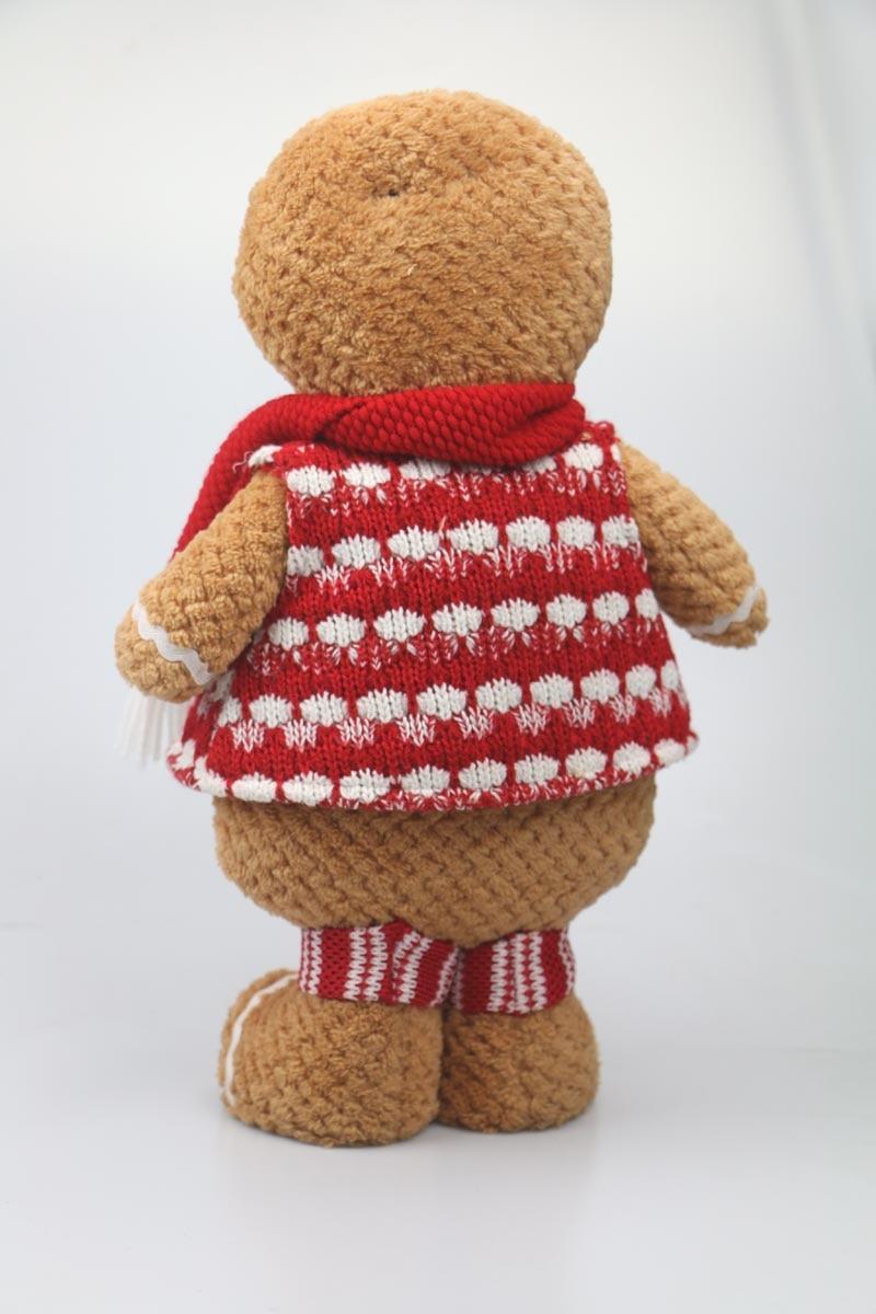 Gingerbread Man plush საშობაო საჩუქარი - პლუშები სათამაშოები - ფოტო 6