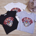 5pcs/lot Baby girls T shirts kids children clothing short sleeve puppy tops boys tee shirts 2-7T