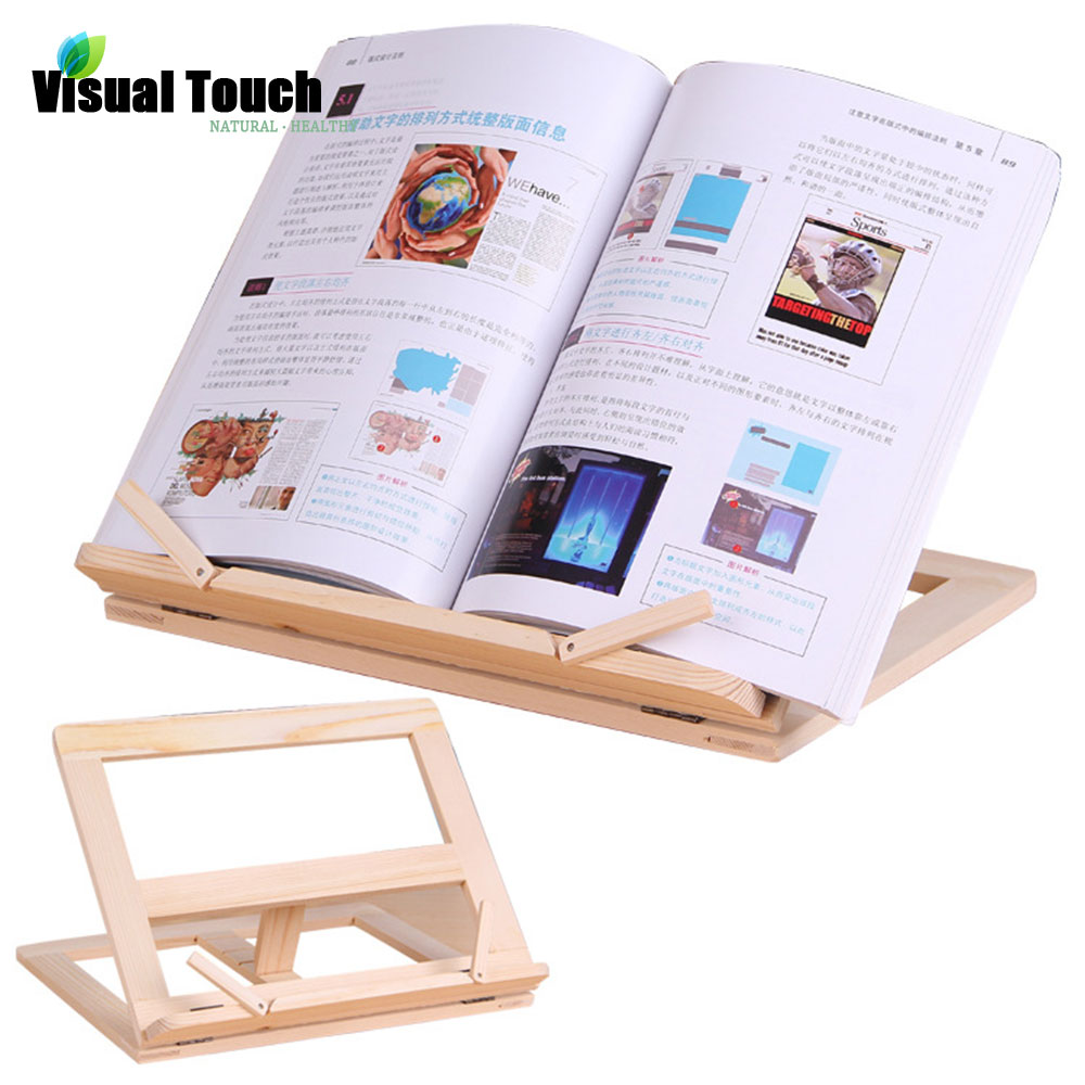 multiuse wood wooden recipe holders bookstand cook book stand mastress love gift cookbook stands - Recipe Book Holder
