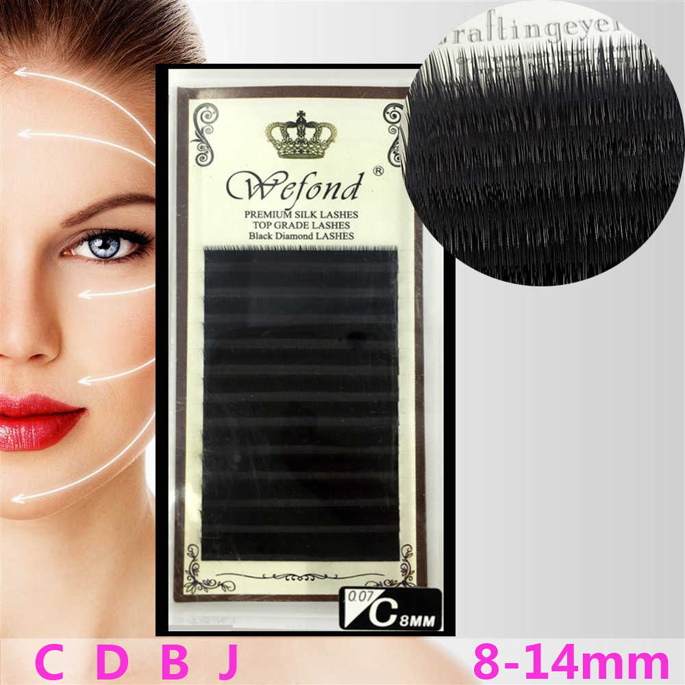 31f07123cc1 Detail Feedback Questions about New A Series08 14MM Size 1pc individual mink  eyelashes russian volume eyelash extensions supplies cilia lashes eyelash  ...