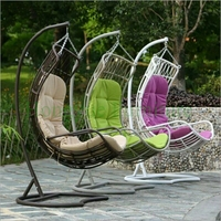 Patio Hammock Chair Stand With Cushions Furniture Supplier