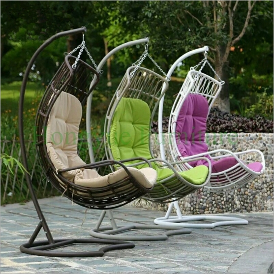 patio hammock chair stand with cushions furniture supplier in rh aliexpress com Patio Hammock Chair with Frame Outdoor Lounge Chairs