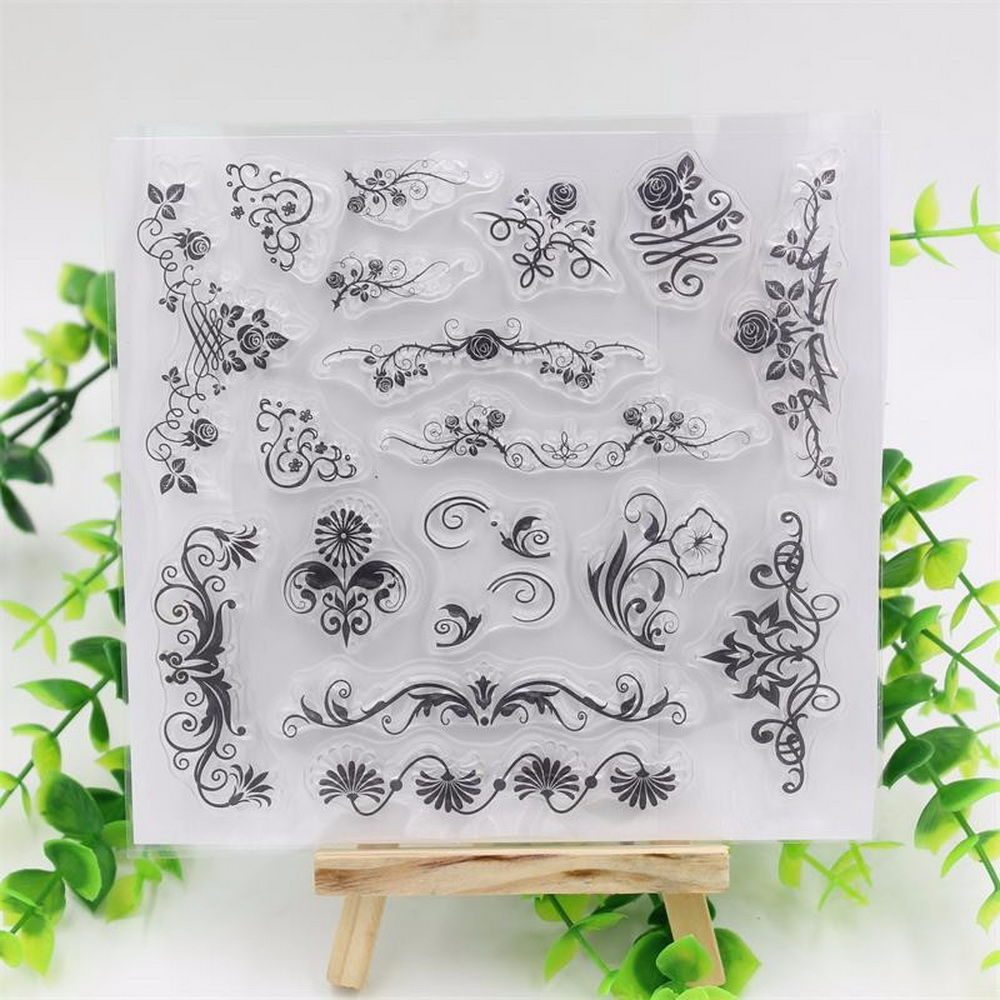 Rubber stamps arts and crafts - Cute Designs Transparent Clear Rubber Stamp Seal Paper Craft Scrapbooking Decoration Projects Diy Arts Crafts