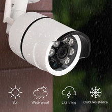 SDETER Bullet IP Camera Wi-Fi Waterproof Surveillance Outdoor Camera Built-in 16G Memory Card Camera Wifi Night Vision Webcam