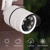 SDETER Bullet IP Camera Wi Fi Waterproof Surveillance Outdoor Camera Built In 16G Memory Card Camera
