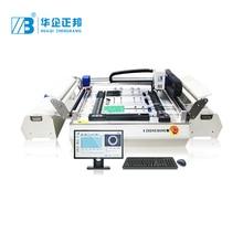 อัตโนมัติ SMD Mounter LED ประกอบหลอดไฟเครื่อง Pick And Place ส่วนประกอบ PCB ติดตั้งเครื่อง