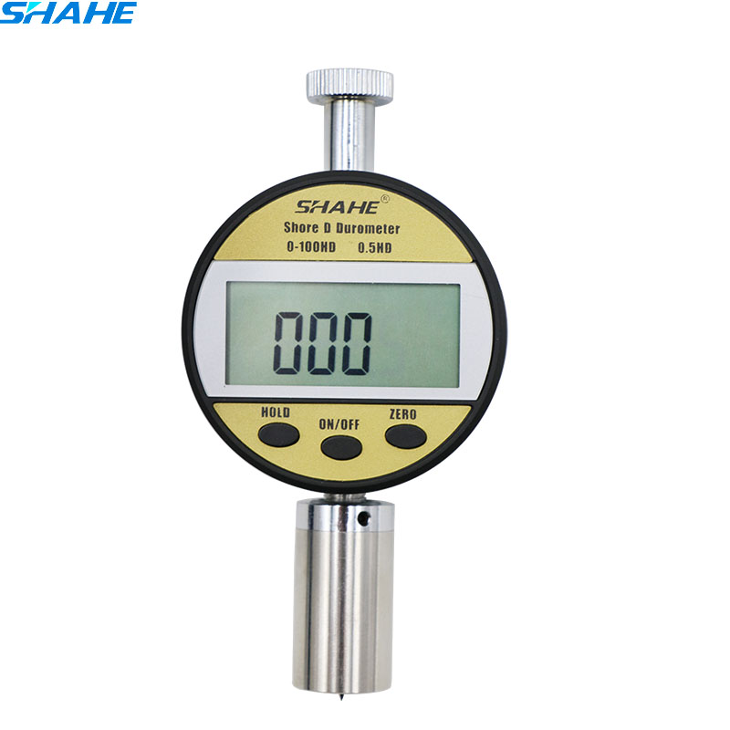 Portable Shore Durometer Digital Shore Hardness Testers 0-100HD Hardness Testing Plexiglas durometer LXD-D hot sale portable digital handheld rubber silica gel plastic hardness testers lx a high accuracy precision shore durometer meter