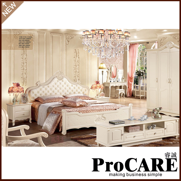 High quality elegant bedroom sets 7 pcs in 1 set white big wooden bedCompare Prices on White Bedroom Furniture Sets  Online Shopping  . High Quality Bedroom Furniture Sets. Home Design Ideas