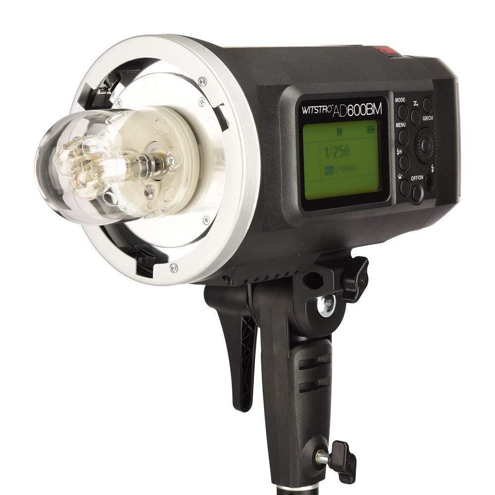<font><b>Godox</b></font> <font><b>AD600BM</b></font> Bowens Mount 600Ws GN87 High Speed Sync Outdoor Flash Strobe Light with 8700mAh Lithium Battery for C N CD50Y image
