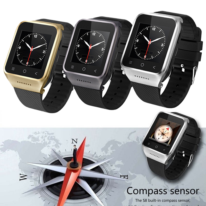 ZGPAX S8 Smartphone Bluetooth font b Smart b font font b Watch b font Phone Android