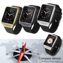 Zgpax s8มาร์ทโฟนบลูทูธsmart watchโทรศัพท์android 4.4 mtk6572 Dual Core 1.5นิ้วWIFI GPSเข็มทิศ2.0MPกล้อง3กรัมWCDMA
