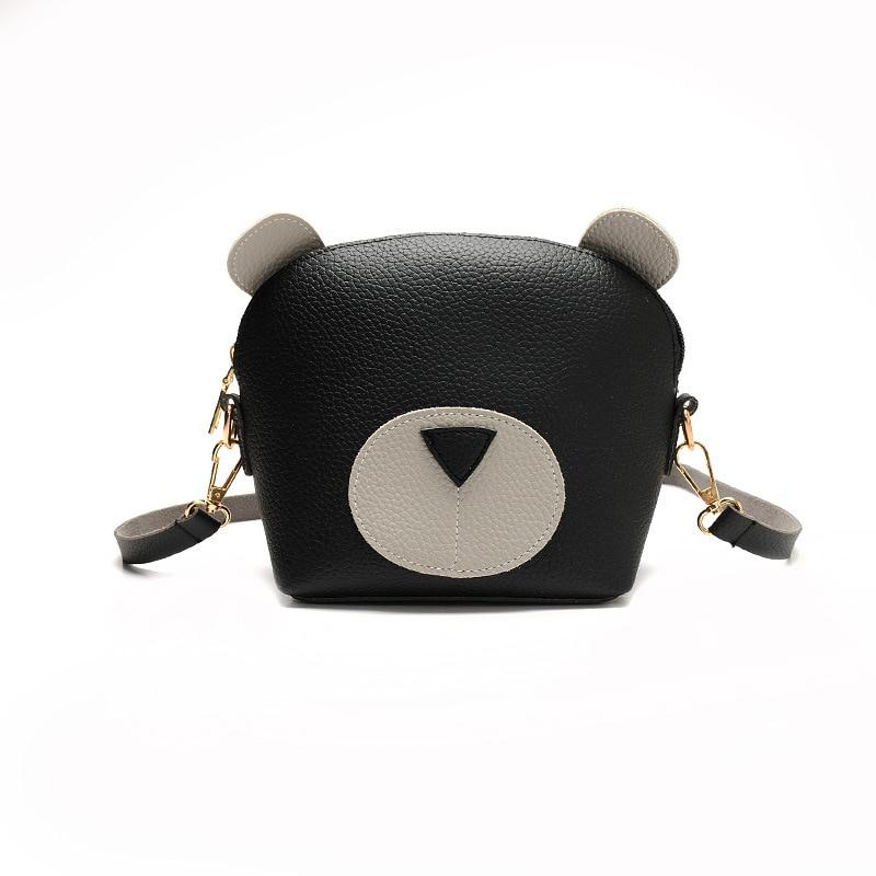 Womens bag Summer leisure new style Lovely lady Shellfish bag for womens Bear hold in the hand Single shoulder slant bag