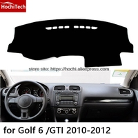 For Volkswagen VW Golf 4 6 7 Double Layer Silica Gel Car Dashboard Pad Instrument Platform