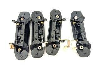 Image 5 - 4pcs מלא סט רכב קדמי אחורי חיצוני דלת ידית שחור עבור מיצובישי פאג רו מונטרו V31 V32 V33 V43 V46 v47