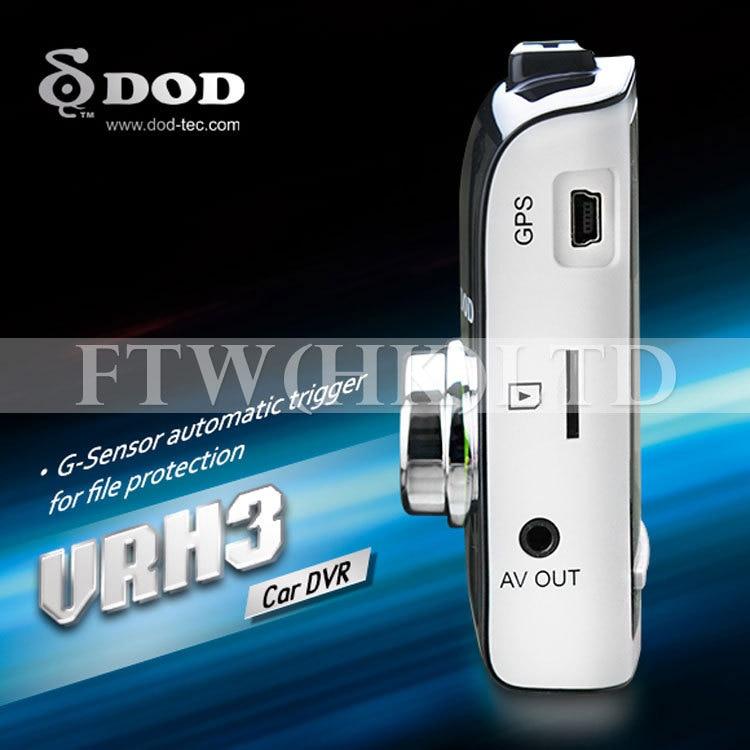 NEW VRH3 HD 1080p Car DVR Surveillance Cam Dash Camera w// GPS Sensor
