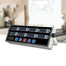 Commercial kitchen eight combination timer Warn calculagraph Alarm clock Milk te