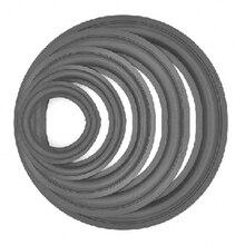 Сменные Рупорные детали, резиновые аксессуары для динамиков, складные НЧ-динамики, кольцо с краями, объемные универсальные пенопластовые пылезащитные прочные