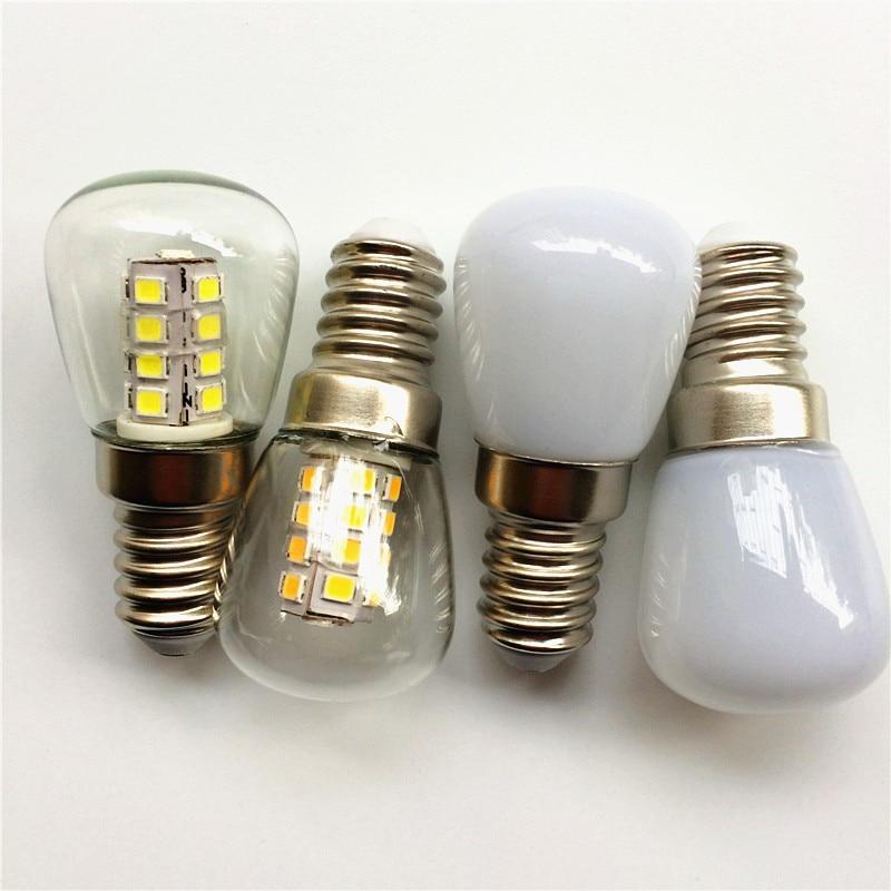 Energy saving! E14 SMD2835 26leds Lamp 3W AC220V AC230V AC240V Refrigerator LED Bulb fridge corn light ST26 lamp  недорого