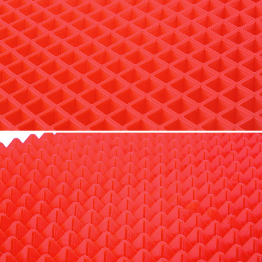 40x27 cm Piramidy Pieczenia Pan 4 kolor Nonstick Silikonowe Formy Do - Kuchnia, jadalnia i bar - Zdjęcie 6