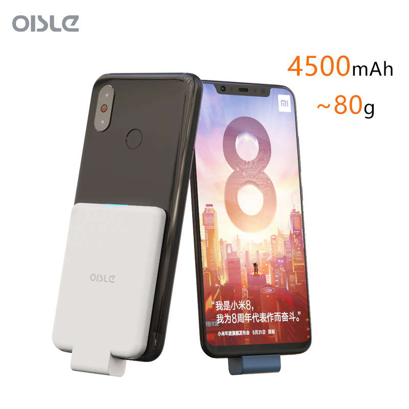 Batterie externe Chargeur De Batterie Pour Xiaomi Redmi Note 7 Type-c Chargeur Portable Pour Redmi K20 Pro batterie de secours extra plate