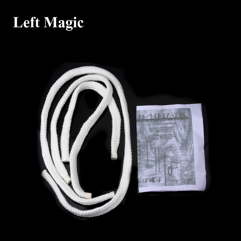 Tenyo Four Nightmares DX Magic Rope Magic Tricks Visual Magic Show Close Up Street Illusions Stage Magic Props Tools Gimmick
