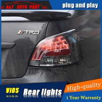 Car Styling Accessories For Toyota Vios Rear Lights Led TailLight 08 12 For Vios Rear Lamp