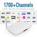 Android Smart Tv Set Top Box RK3128 Android IPTV Caja con IUDTV Envío Suscripción Iptv Árabe Francés Completo Europa 1700 canales