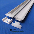 2meter/pc aluminum profile for led strip,2m led bar light with 5050 strip milky/transparent cover 12mm pcb channel CC-24.5X7-2m