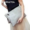 Moda sólido de las mujeres del bolso de cuero de las mujeres bolsa de embrague bolso de noche bolsa de embrague mujer Bolso Embragues envío libre ND001