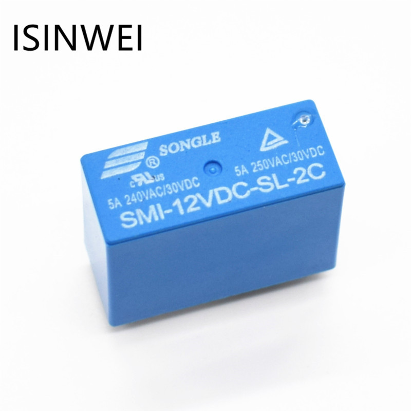 SMI-12VDC-SL-2C Power relay 12V 5A 8 PIN 250VAC/30VDC SONGLE Relays моноблок asus zen aio zn270iegk ra020t gray 90pt01r1 m00660 intel core i7 7700t 2 9 ghz 12288mb 2000gb nvidia geforce 940mx 2048mb wi fi bluetooth cam 27 0 1920x1080 windows 10 64 bit