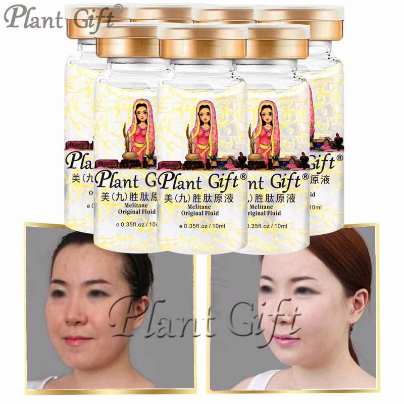 Plant Gift Hot Sale Melitane Original Liquid Anti-aging Acne Whitening Serum 10ml*7pcs hot sale strong anti aging formula resveratrol 98