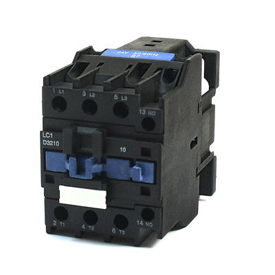 LC1-D3210 General Purpose Household 24V Coil 50A 1NO AC Contactor