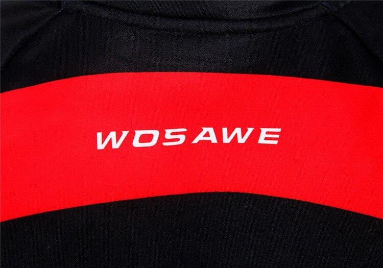 Haut D'hiver Polaire Veste Thermique Wosawe Vélo Jersey qvUOwB4x