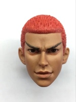 1/6 Scale Slamdunk NO.10 Head Sculpt Model for 12in action figure accessories toys m5 DIY Hobbies Collections