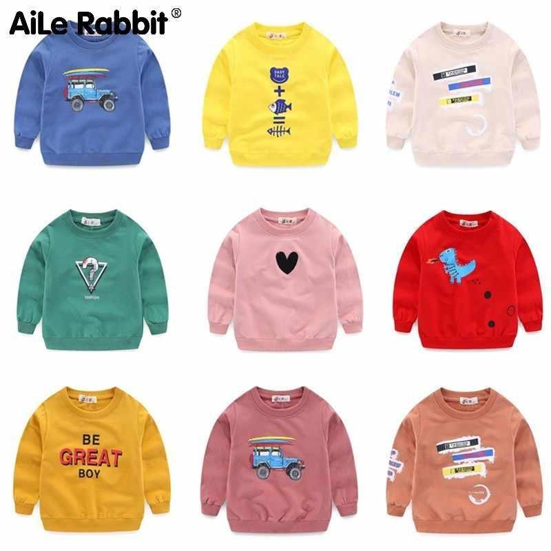 53ab6cc8c2dd6 AiLe Rabbit New Baby Girls Clothing Banner Star Girls Long Sleeve T Shirt  Children's Clothing Casual Tops Tee Shirt k1