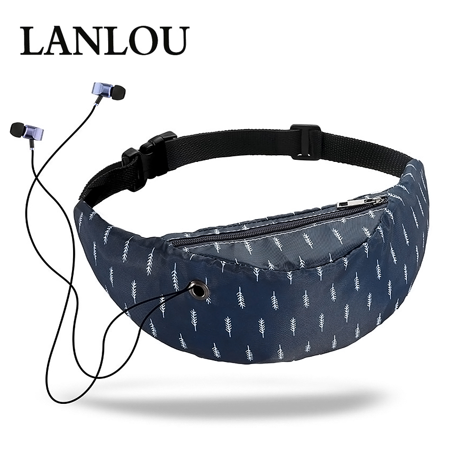 Women Waist bag waterproof Canvas High Quality Belt Bags  Fanny Pack girls Sling Bags New Fashion Mobile Phone Pouch sports bag bracelet