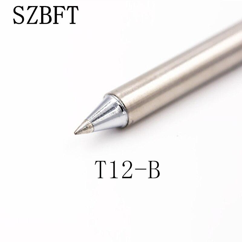 SZBFT Soldering Iron Tips T12-B B2 BC1 BC2 BC3 BZ B2Z Series For Hakko Soldering Rework Station FX-951 FX-952 Free Shipping