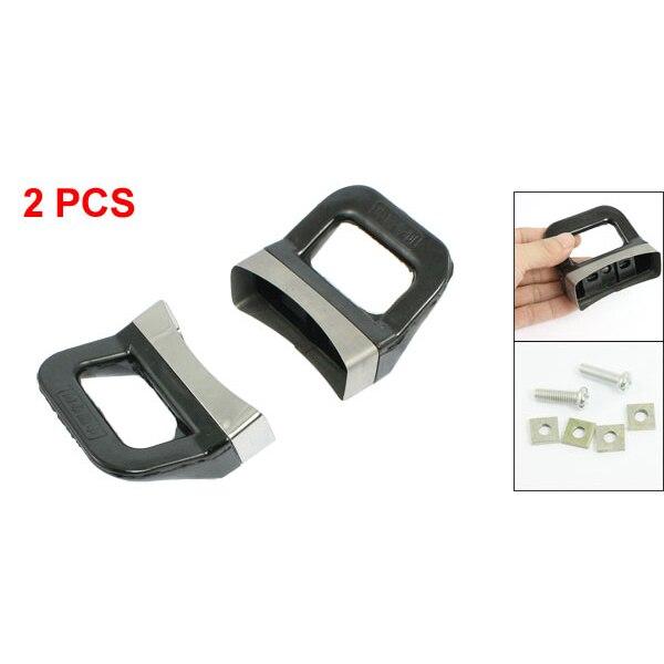 HGHO-Metal Black Pressure Pan Handgrip Hardware Short Side HelPer Handle