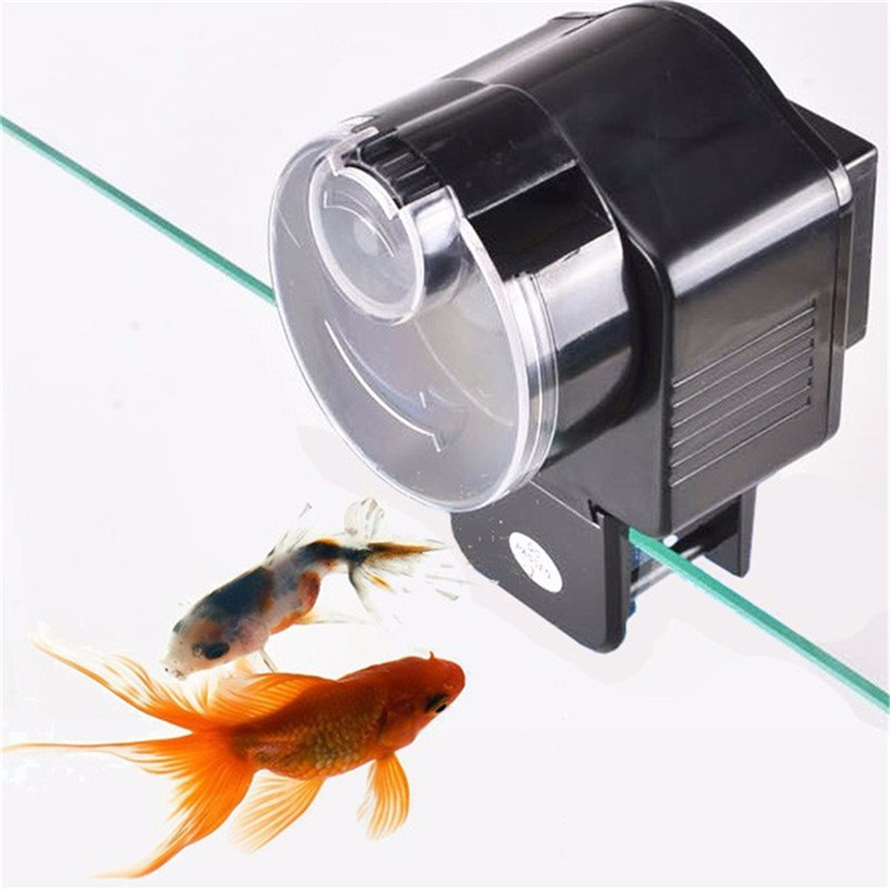 automatic to feeder auto fish timer plastic pond item