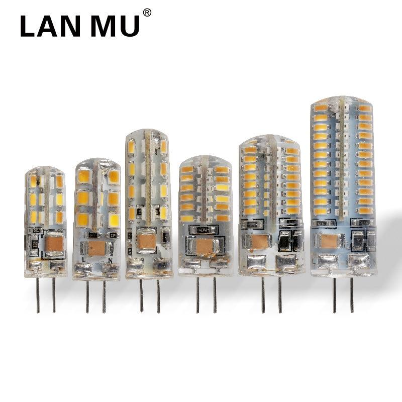 LAN MU G4 LED Lamp 24 32 48 64 96 LEDs Bulb AC 220V SMD 2835 3014 Lampada LED G4 light Replace Halogen Lamp G4 Chandelier eco cat g9 led lamp ac 220v led bulb crysta 5w 7w 9w smd 2835 3014 led light for chandelier spotlight replace halogen lamp