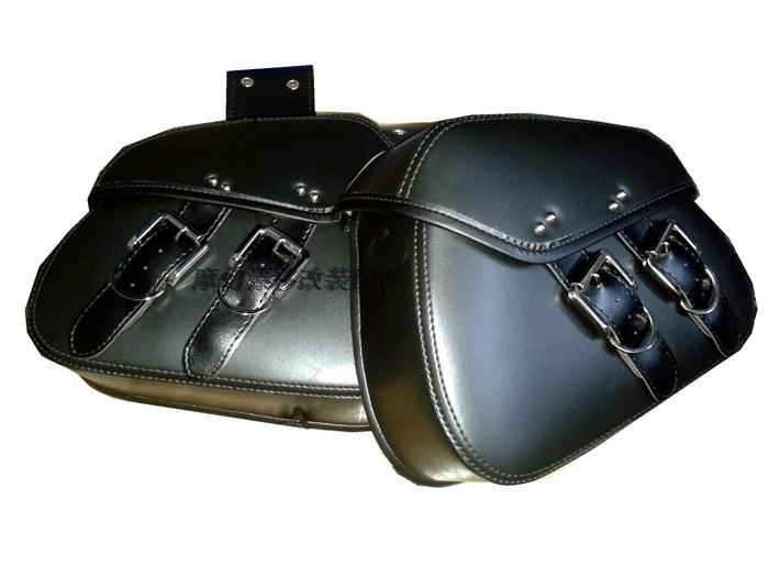 Customized XL1200 Sportster XL88 motorcycle saddle bag cruise modified Prince side bag for debris wrapping tool